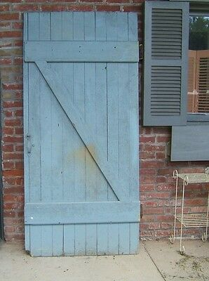Farmhouse DOOR  AUTHENTIC Vintage OLD Door FARM DOOR Salvaged Barn Wood