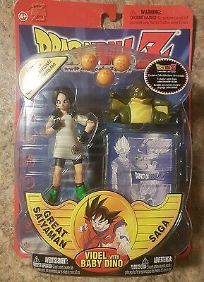 irwin toys dragon ball z great saiyaman with baby dino 2002 new in Package