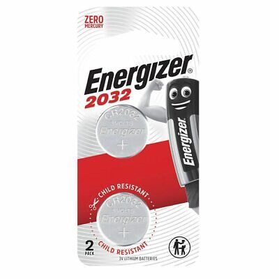 Energizer 2032 battery 2pk - 3v lithium batteries - CR2032