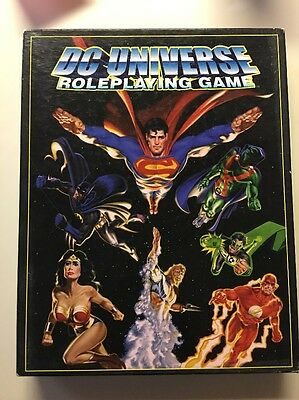 DC Universe Role Playing Game West End Games 1999