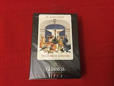 New Guinness Playing Cards - St Jame's Gate Home Of Guinness Factory Sealed