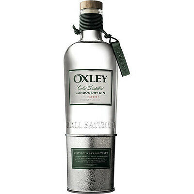 Botella Ginebra oxley