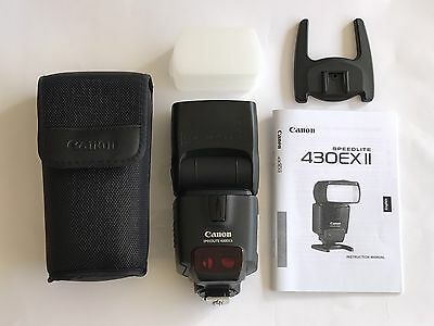 CANON 430EX II Speedlite Flash 430EXII Speedlight Plus Diffuser