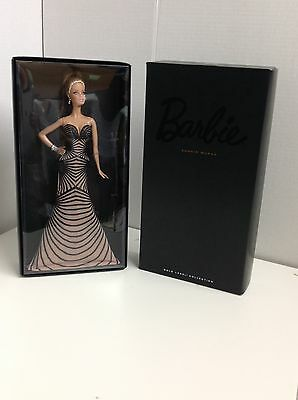 2014 Zuhair Murad Barbie Collectible Doll BCP91 by Mattel Gold Label
