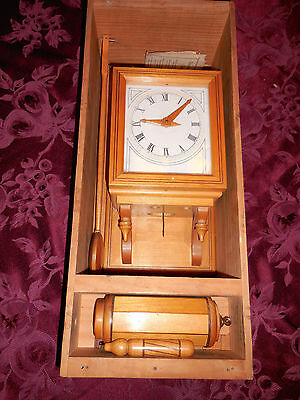 VERY VERY RARE VINTAGE Charles Alvah Smith WALL CLOCK # 478