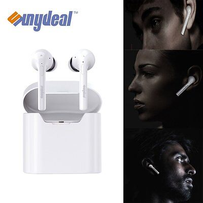 Mini TWS Twins True Wireless Bluetooth Stereo Headset In-Ear Earphones Earbuds