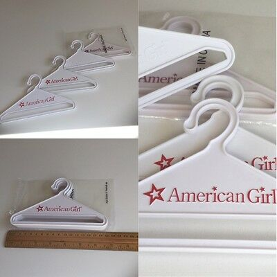 "Authentic American Girl 18"" Doll Clothes Hangers Set Of 4 Fit Our Generation"