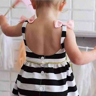 New Girl Princess Dress Kid Baby Party Wedding Pageant Tulle Tutu Dresses 2-3Y