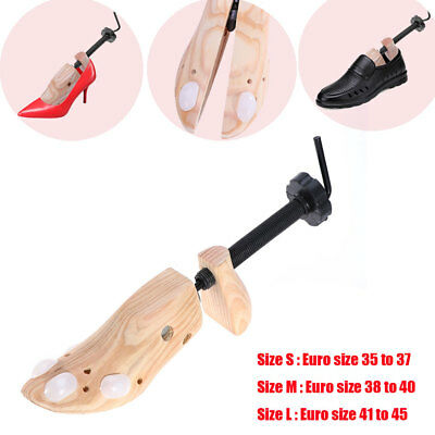 Wooden Shoes Stretcher Expander 2-Way Adjustable Professional Shoe Tree Unisex