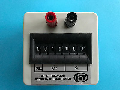 IET Labs RS-201 Precision Resistance Substituter Decade Box