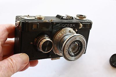 Rare  Zeiss Ikon Contax !  35 mm Camera