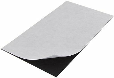 """Flexible Magnet Sheet With Adhesive & Project Idea Sheet, 0.020"""" Thick, 5"""" Wide,"""