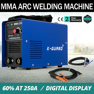 MMA-250 Inverter Welding Machine Arc E-HAND Welder Safe 50HZ/60HZ Light Weight