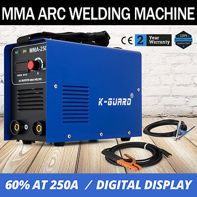 MMA-250 Inverter Welding Machine Arc E-HAND Welder Portable Robust 50HZ/60HZ