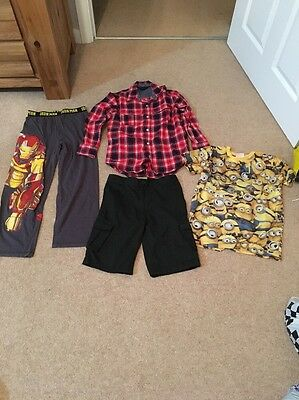 Bundle Of 4 Items Of Boys Clothes Aged 8-9 Years