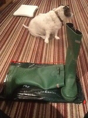 Town & Country Size 10 Bosworth Wellington Boots - Green