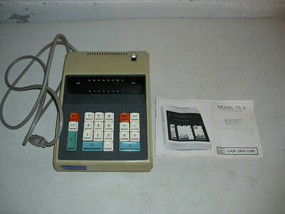 Vintage Logic Data Corp. Calculator Model TA-3