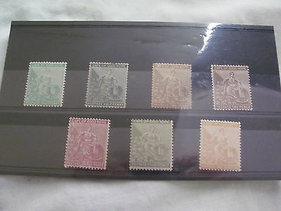 Cape Of Good Hope Sg 28 -35 Lightly Mounted Mint & Used