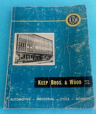 Vintage Keep Bros and Wood Catalogue 1960's