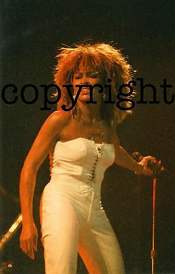 TINA TURNER Live • 3 Concert Photos • Germany 1988 • in 9 x 13  &  10 x 15 cm