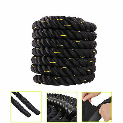 Battle Rope Tug War Rope Training Rope Boot Camp Exercise Rope Dia 38MM