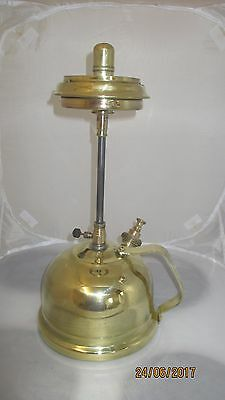 Rare Vintage TL13 or TL14  Table Tilley Lamp Lantern With Gallery