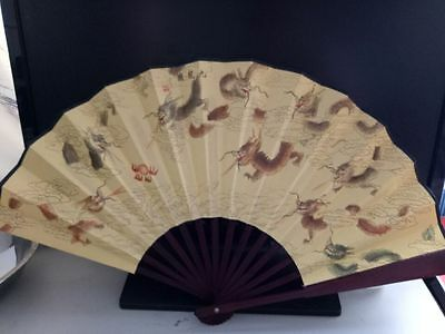 Chinese Folding Paper Dancing HAND FAN Wholesale Christmas Gift landscape sxc