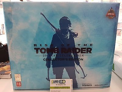 Ps4 Rise Of The Tomb Raider 20 Year Collector's Edition Sigillato Pal Ita