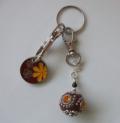 Mystic Ball Charm Key Ring and Trolley Token + Free Gift Bag