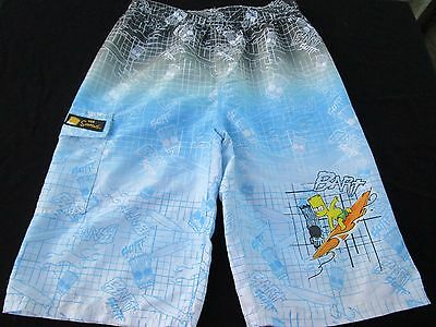 Boys size 14 The Simpsons board shorts