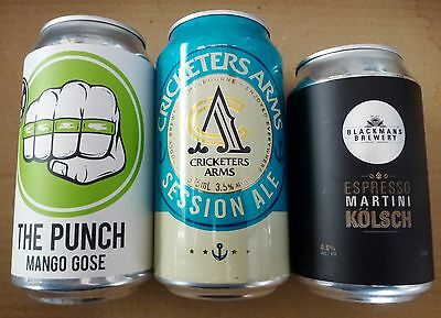 Three  Small Brewery Beer Cans from Victoria, Australia (Lot 1)
