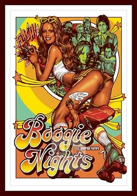 Boogie Nights    Iconic & Cool Movie Poster Vintage & Classic Films