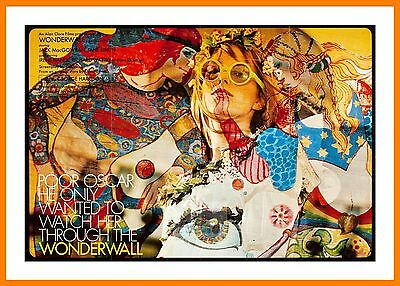Wonderwall   Hippy Culture Movie Posters Classic Films