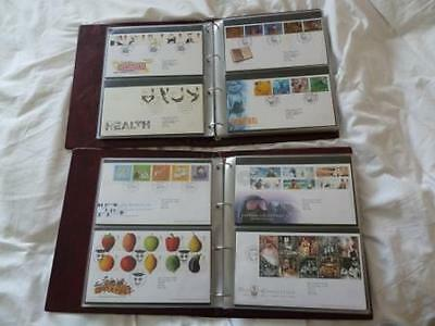Royal Mail First Day Covers in 2x Folders - 116 in TOTAL