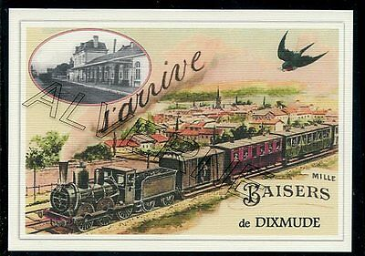 DIXMUDE  - train souvenir creation moderne - serie limitee numerotee