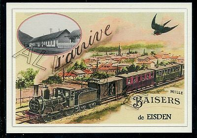 EISDEN  -....train  souvenir creation moderne serie numerotee
