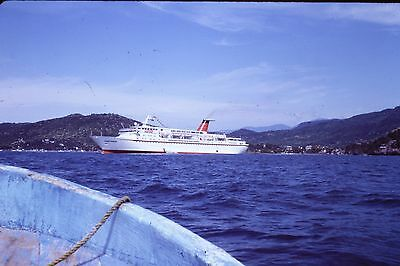 Original Slide, CUNARD PRINCESS Cruise Ship 1983, A