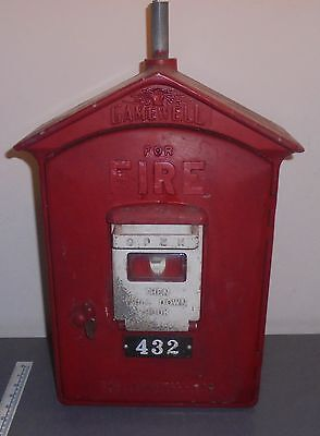 Vintage Gamewell Fire Alarm Call Box