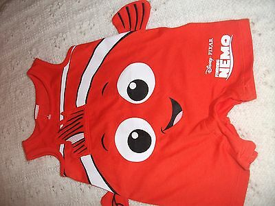 baby boys orange finding Nemo sun suit 0-3 months new