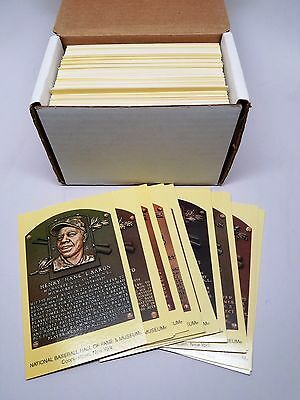 National Baseball Hall of Fame Induction Postcard Partial Set (269) Cooperstown