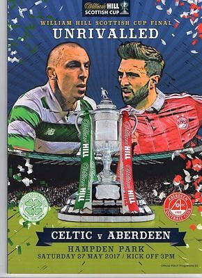 ABERDEEN v CELTIC SCOTTISH CUP FINAL 27/5/2017