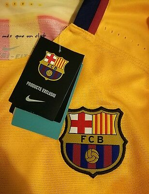Nike Fc Barcelona Authentic Match Un Worn Player Issue Messi Suarez Neymar