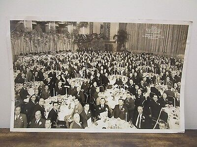 Antique 1940 Original Photo Coca Cola Bottlers Convention NEW YORK CITY Coke