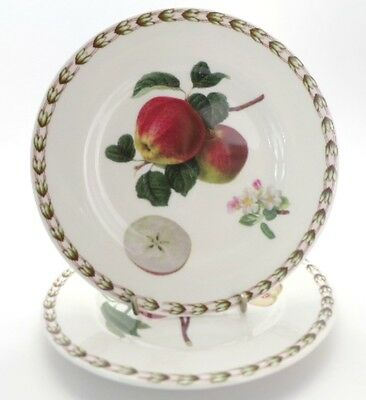 Queens China HOOKERS FRUIT 2 x Tea Plates 16cms