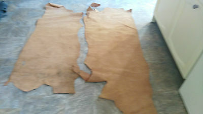 Job Lot Leather Suede Hide Pieces Black Brown Tan Patent 11 Kg