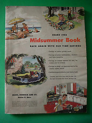 Sears Roebuck Midsummer Book Catalog 1946 / 230 pages