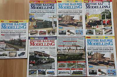 British Model Railways Magazines, lot of 7, assorted issues. (mostly 2011).