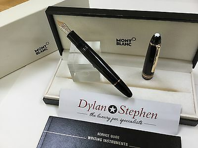 montblanc meisterstuck legrand 146 fountain pen 14K medium nib + box
