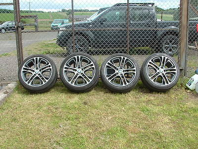 "BMW X3, X4, X5, X6, 20"" complete alloy wheels with tyres."