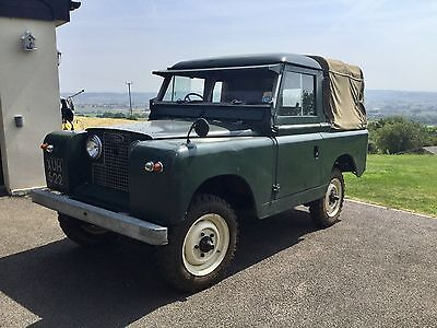 Land Rover Series 2. 1961